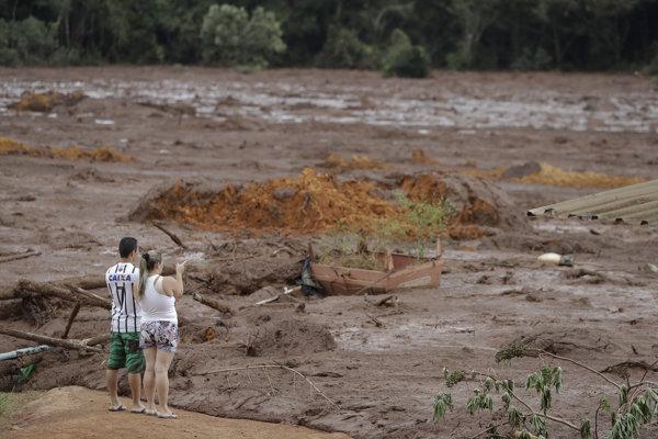 V Brazílii sa pretrhla priehrada.