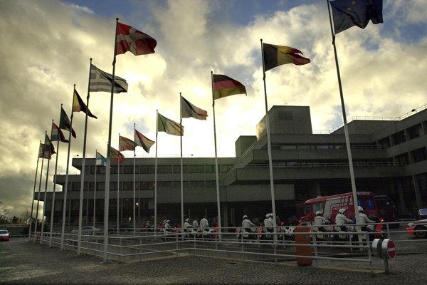 Sídlo Európskej investičnej banky v Luxemburgu.