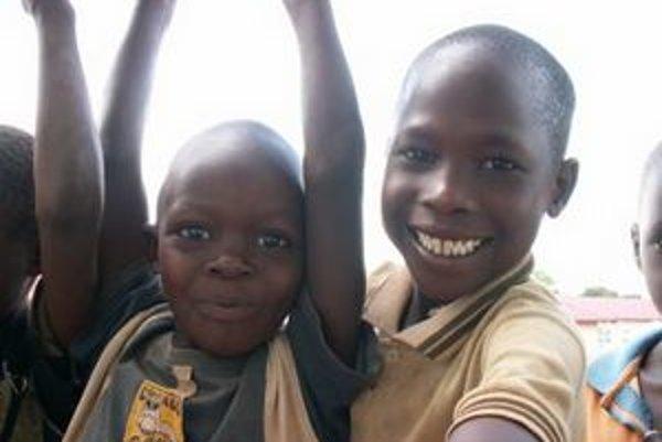 Problém Afriky tkvie v nedostatku vzdelania.