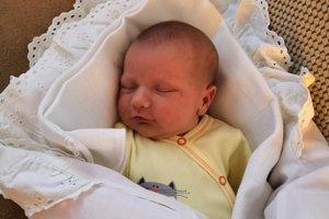 Linda Drienková (3650 g, 52 cm) sa narodila 12. januára Lucii a Lukášovi zo Soblahova.