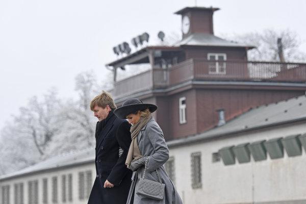 Snímka koncentračného tábora Buchenwald neďaleko Weimaru.