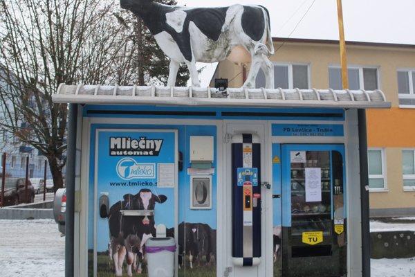 Mliekomat je v prevádzke od roku 2010.