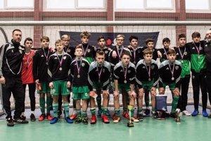 Futbalisti Tatrana Prešov U15 získali vo finále Halovej sezóny strieborné medaily.