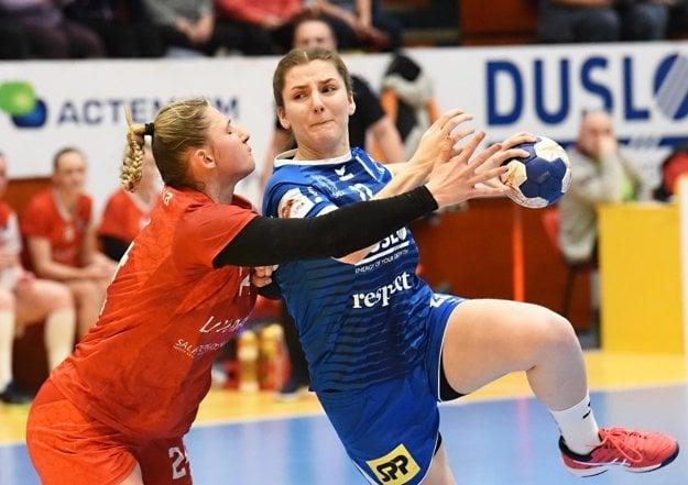 Na minuloročných MS kadetiek bola Zuzana Trepáčová najlepšou strelkyňou slovenskej reprezentácie.