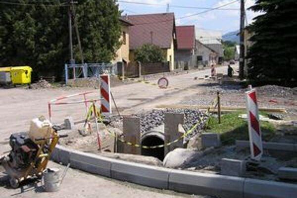 V Kráľovej Lehote vládne stavebný ruch.