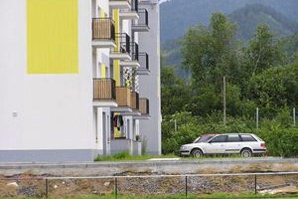 Cieľom výstavby nových bytov v Liptovskom Jáne je omladiť dedinu.