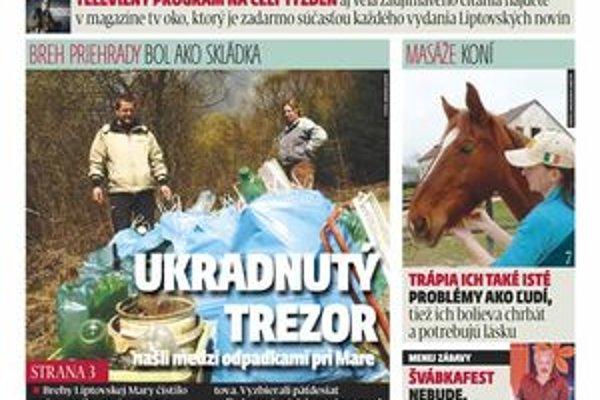 Najnovšie číslo týždenníka MY Liptovské noviny ponúka zaujímavé čítanie aj možnosť vyhrať.