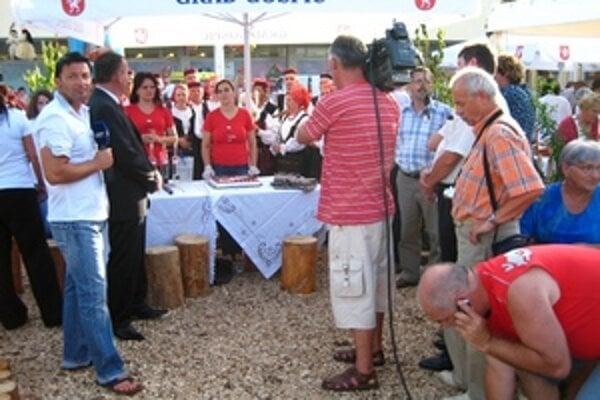 Keďže mestá Ružomberok a Gospič majú partnerské vzťahy, pozvanie na oslavy Deň mesta Gospič dostali aj Liptáci.