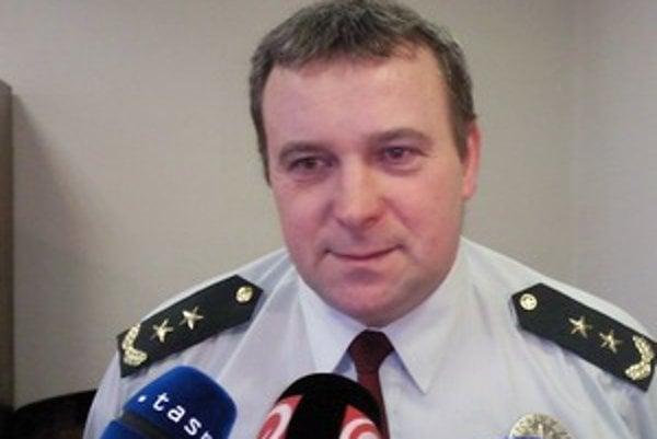 Riaditeľ Okresného Policajného zboru v Ružomberku Ondrej Budiak.