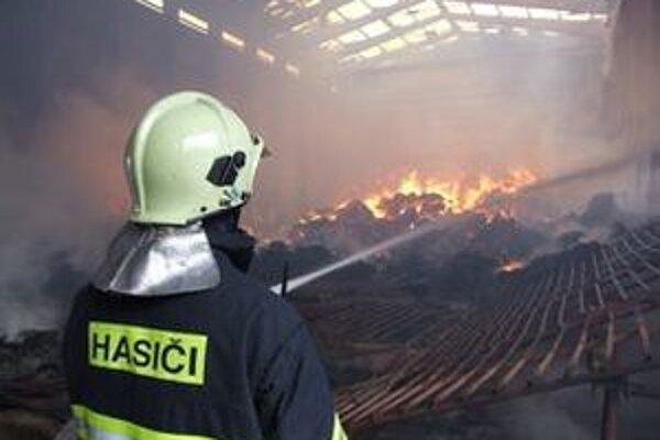 V januári horelo aj na družstve v Liptovskej Osade, zhorelo štyristo ton sena.