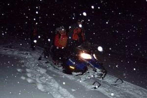 Horskí záchranári boli aj počas soboty v plnom nasadení.