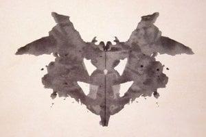 Škvrnu z Rorschachovho testu využívajú niektorí psychológovia  na rozbor osobnosti.