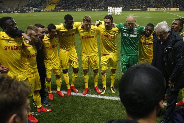 Futbalisti FC Nantes (ilustračný snímok).