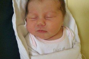 Ninka Kozáková (3530 g a 49 cm) sa narodila 11. januára Jane a Jozefovi z Novej Dubnice. Radosť má aj brat Matej.