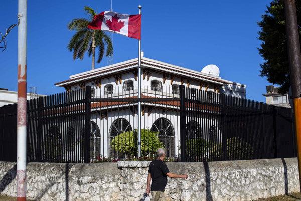 Budova kanadského veľvyslanectva v Havane.