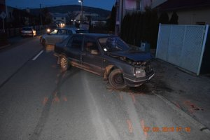 Nehoda v Pažiti.