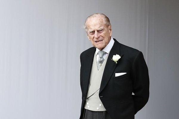 Manžel britskej kráľovnej Alžbety II. princ Philip.
