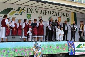 V kultúrnom programe sa predstavili všetky obce združené v mikroregióne.