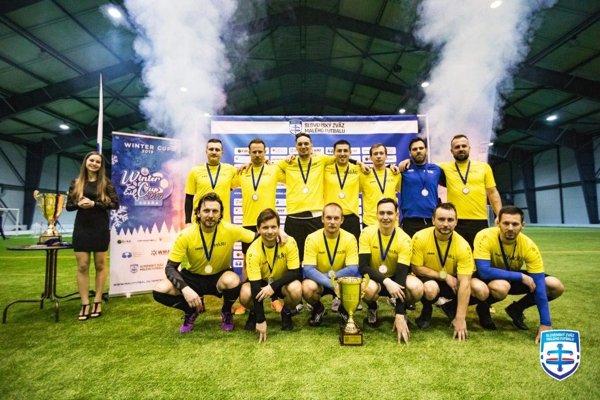 Mužstvo Pivkári z Nitry dosiahlo ďalší pekný úspech.
