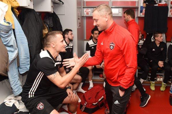 Tréner Michal Ščasný sa bude v jarnej časti spoliehať aj na Erika Grendela.