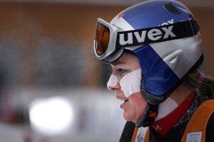 Na pretekoch v Lake Louise v roku 2007.