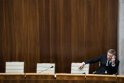 Robert Fico po prvej voľbe kandidátov na ústavných sudcov.