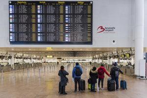 Štrajk paralyzoval aj belgické letiská.