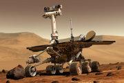 Rover Opportunity sa neozval už od júna 2018. Na obrázku je vizualizácia roveru na Marse.