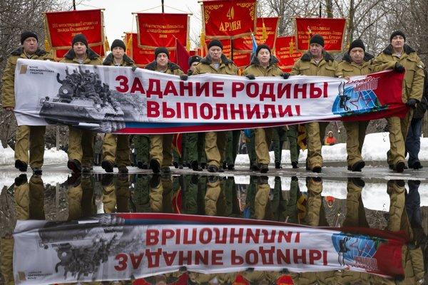 Ruskí veteráni z Afganistanu