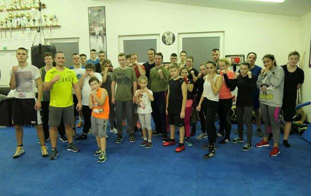 Alpha Boxing Club Malacky - tréning pre verejnosť