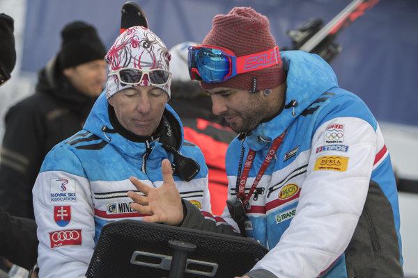 Livio Magoni (vľavo) s Vlhovej bratom Borisom.