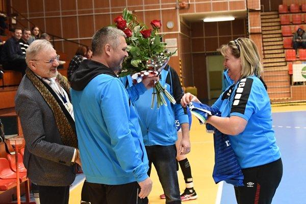 Ľudmila Boltenková, asistentka trénera Lukačína, sa dožila okrúhleho životného jubilea.