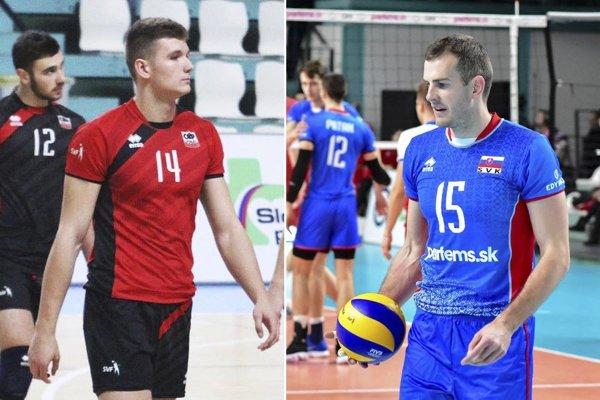 Lukáš Kyjanica a Juraj Zaťko posilnili tím Nitry.