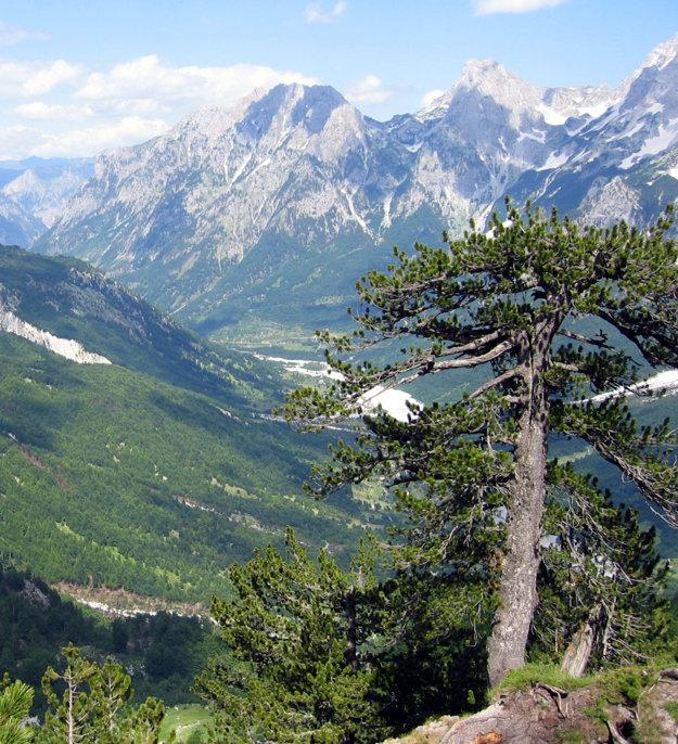 Národný park Theth, Albánsko.