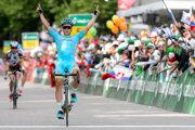 Kazašský cyklista Alexej Lucenko - ilustračná fotografia.