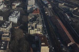 Dopravná situácia - Pražská