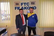 Attila Visnyai (vľavo) a Tomáš Boháčik.