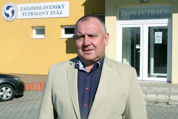Predseda Západoslovenského futbalového zväzu Pavol Šípoš