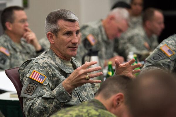 Americký generál John W. Nicholson.