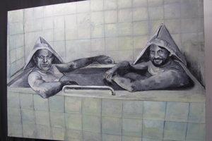 Róbertkovia vo vani. Netradičný pohľad Natálie Šimonovej.