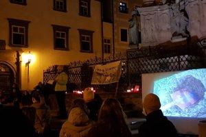 V centre Banskej Štiavnice premietli aj reakcie umelcov na udalosti uplynulého roka.