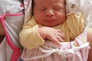 Dorotka Beriacová (3830 g a 50 cm) sa narodila 29. januára Miriam a Jakubovi z Púchova.