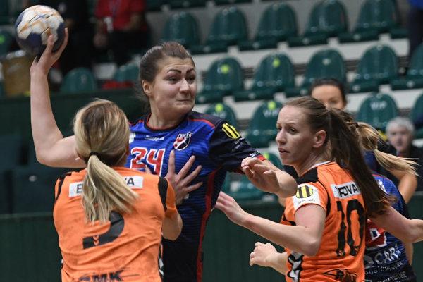 Viktória Vencuriková nastúpila so sebazaprením.