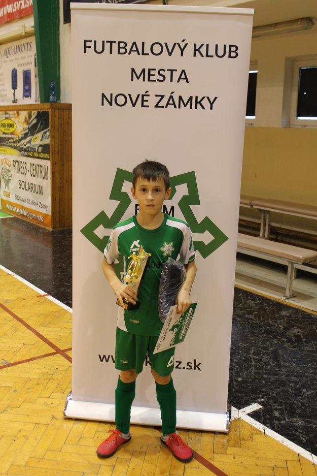 Najlepší hráč turnaja U10 Martin Halienka.