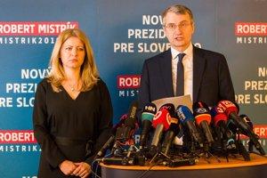 Robert Mistrík odstupuje z prezidentského súboja v prospech Zuzany Čaputovej.