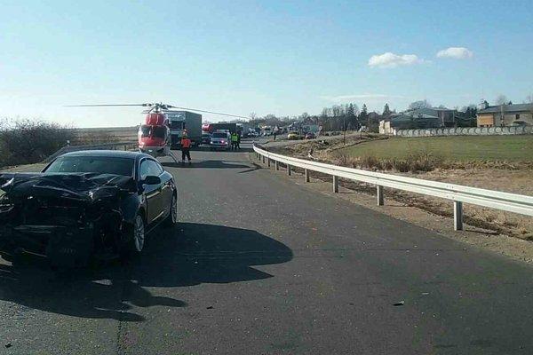 Pri Karlovej dnes došlo k dopravnej nehode.