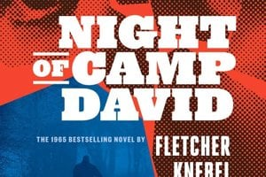 Fletcher Knebel: Night of Camp David, 1965 (Prvá publikácia Vintage Books, divízia Penguin Random House, LLC 2018)