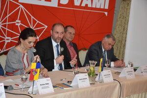 Diskusné stretnutie so županom Košického samosprávneho kraja.