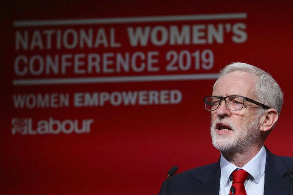 Šéf labouristov Jeremy Corbyn.