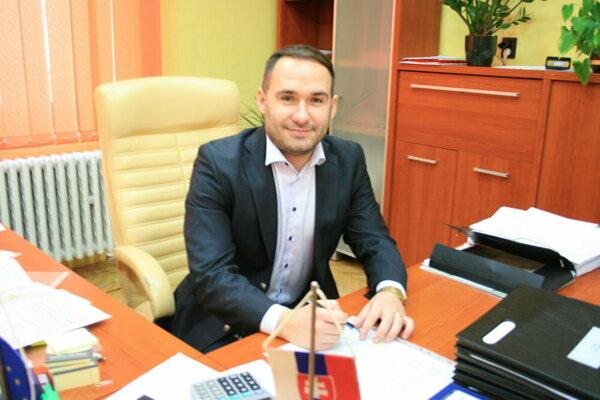 Primátor Gelnice Dušan Tomaško.